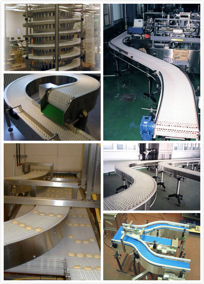 flexible conveyor modular belts